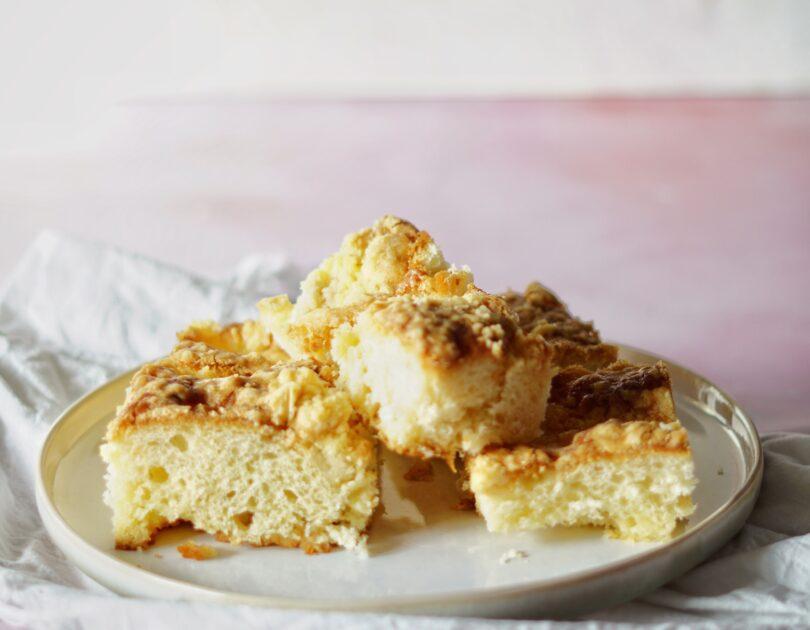 Apfel Zucker Streusel Kuchen