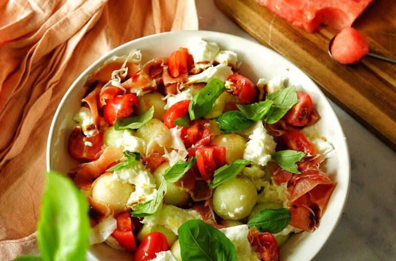 Leichter Melonen Salat